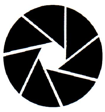 镜头黑色矢量图