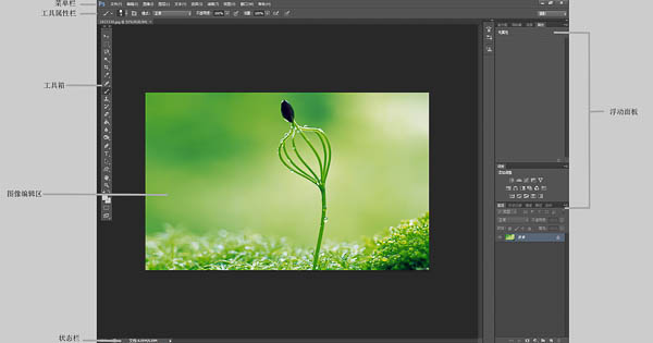 PHOTOSHOP CS6,PHOTOSHOP界面介绍,photoshop教程